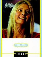 2005 Ace Authentic Sharapova SE #3 Maria Sharapova