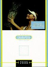 2005 Ace Authentic Sharapova SE Dress #J4 Maria Sharapova/1100 *
