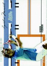 2005 Ace Authentic Signature Series Signature Moments #SM1 Roger Federer