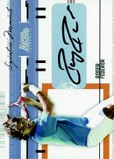 2005 Ace Authentic Signature Series Signature Moments Autograph #SM1 Roger Federer