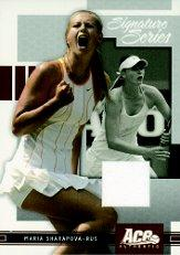 2005 Ace Authentic Signature Series Sharapova Dress Promo #AA Maria Sharapova