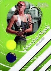 2006 Ace Authentic Heroes & Legends Center Court Royalty Ball-Towel Gold #CCR1 Maria Sharapova