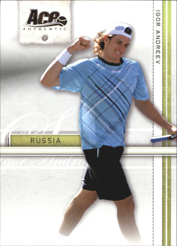 2007 Ace Authentic Straight Sets #17 Igor Andreev