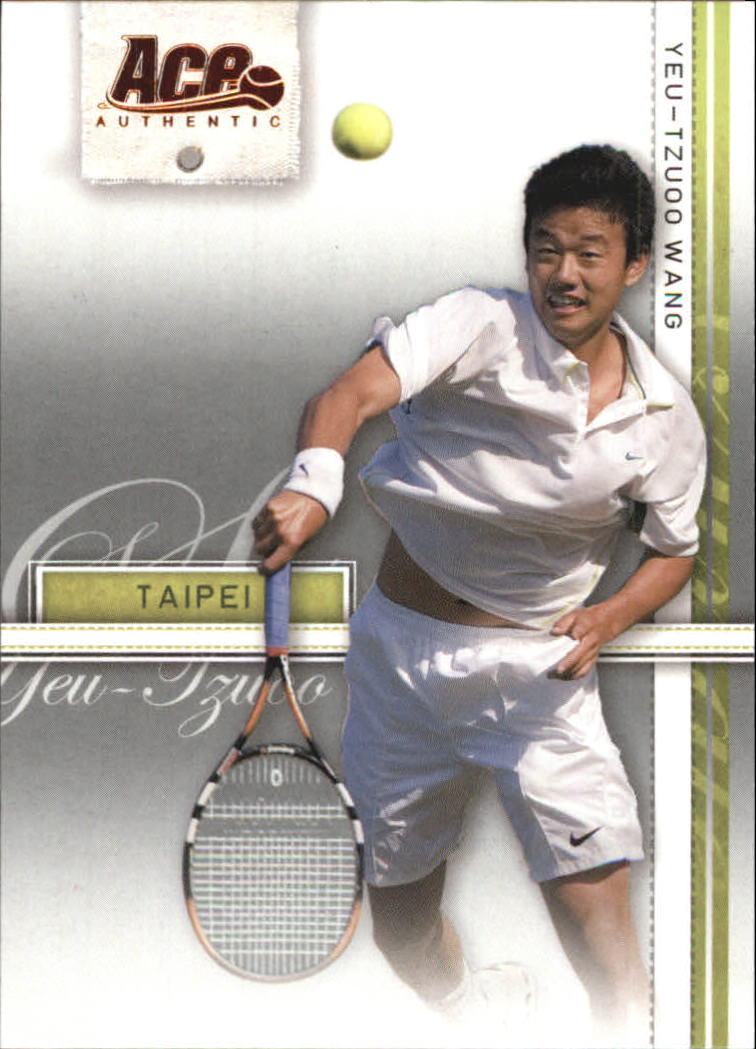2007 Ace Authentic Straight Sets #28 Yeu-Tzuoo Wang