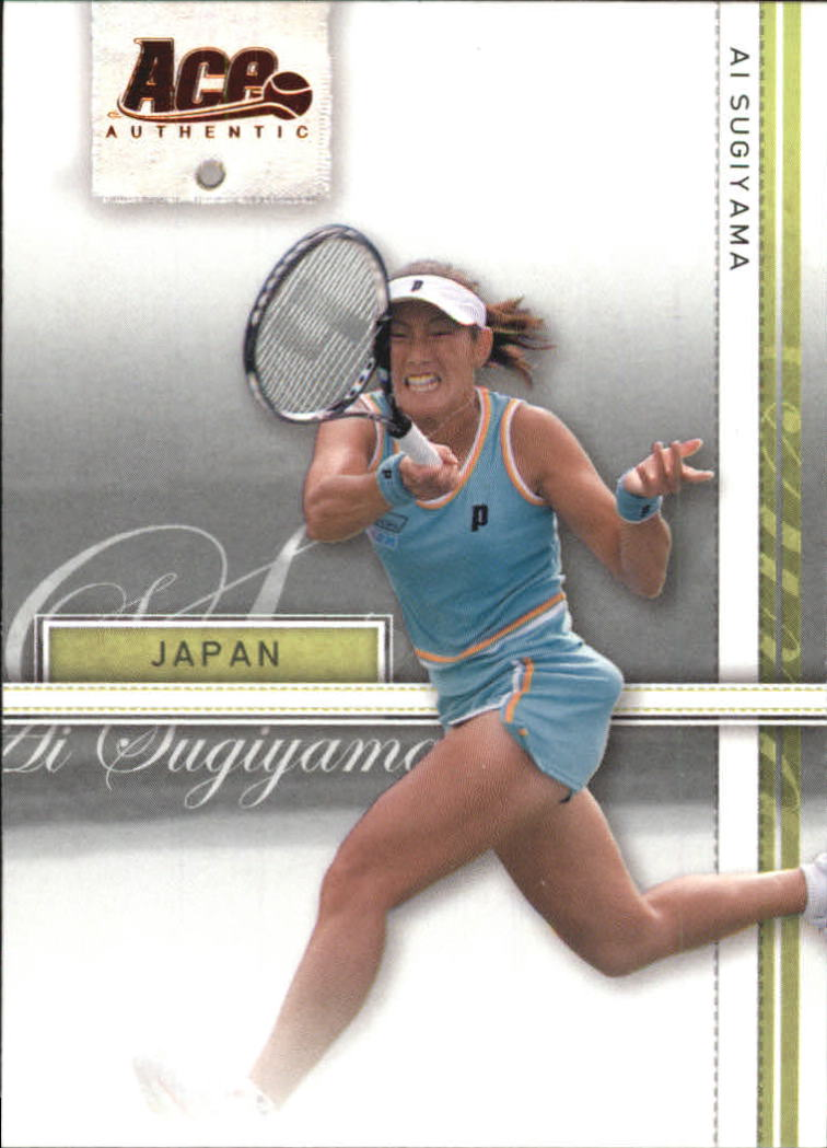 2007 Ace Authentic Straight Sets Bronze #1 Ai Sugiyama
