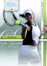 2007 Ace Authentic Straight Sets Holofoil #38 Vera Zvonareva