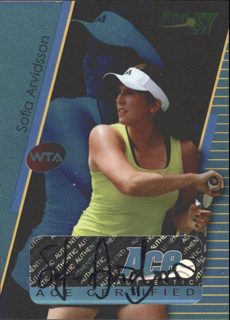 2011 Ace Authentic EX #3 Sofia Arvidsson