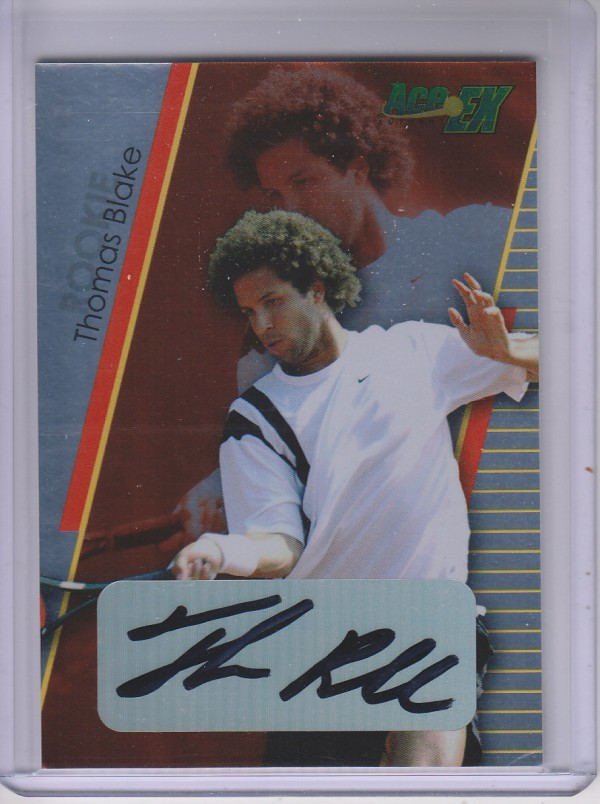 2011 Ace Authentic EX #7 Thomas Blake