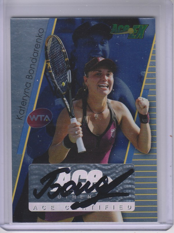 2011 Ace Authentic EX #10 Kateryna Bondarenko