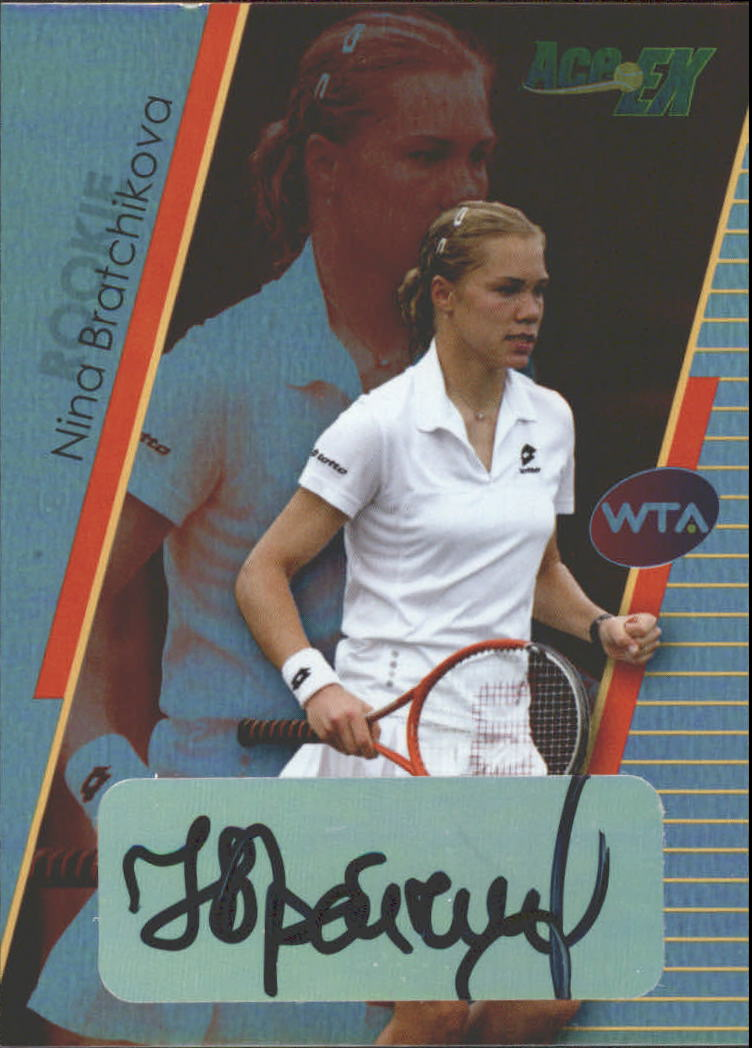 2011 Ace Authentic EX #11 Nina Bratchikova