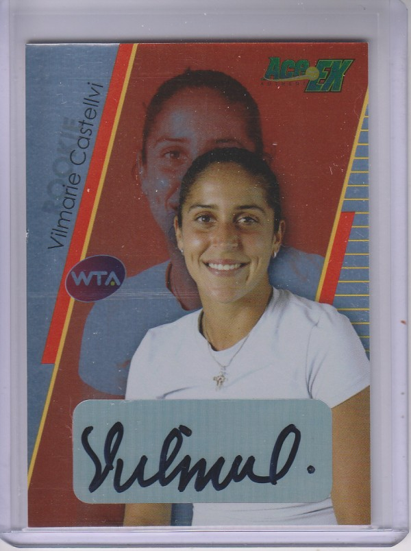 2011 Ace Authentic EX #13 Vilmarie Castellvi