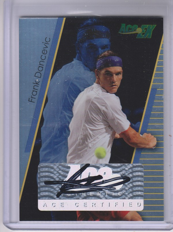 2011 Ace Authentic EX #18 Frank Dancevic