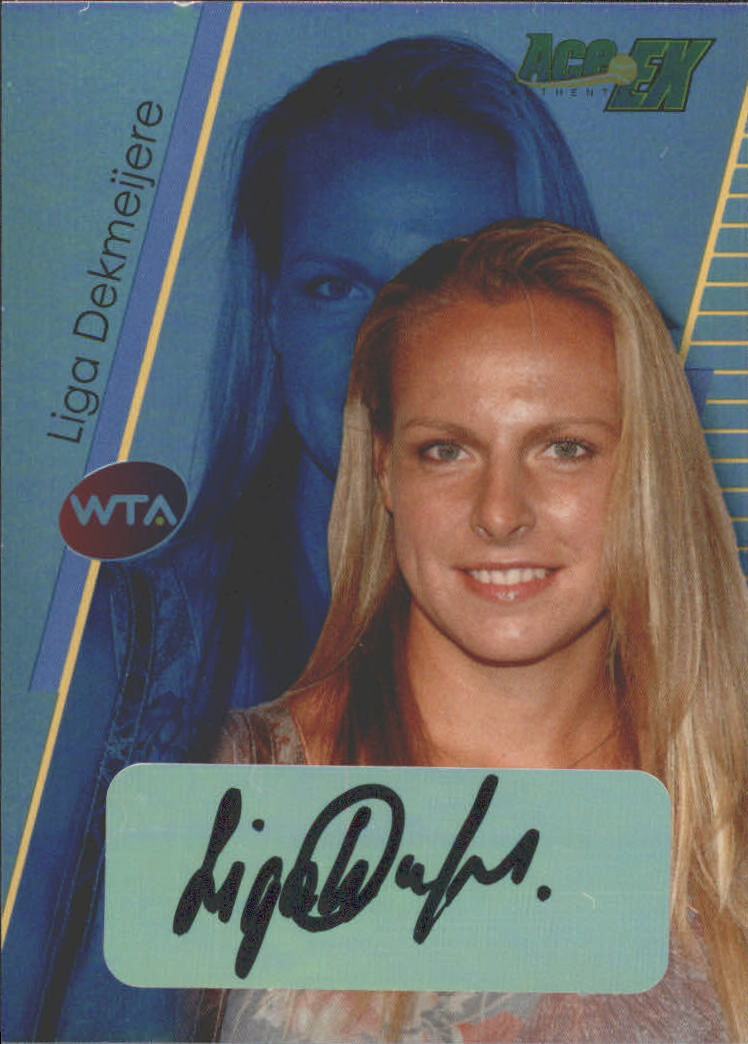 2011 Ace Authentic EX #19 Liga Dekmeijere