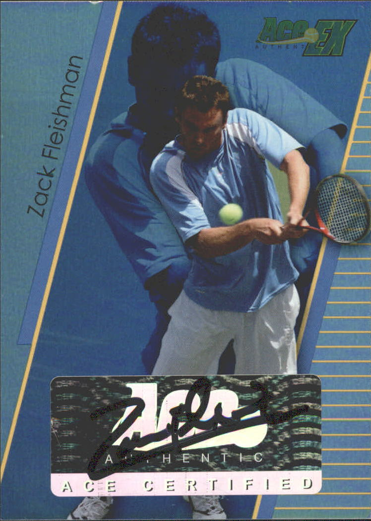 2011 Ace Authentic EX #22 Zack Fleishman