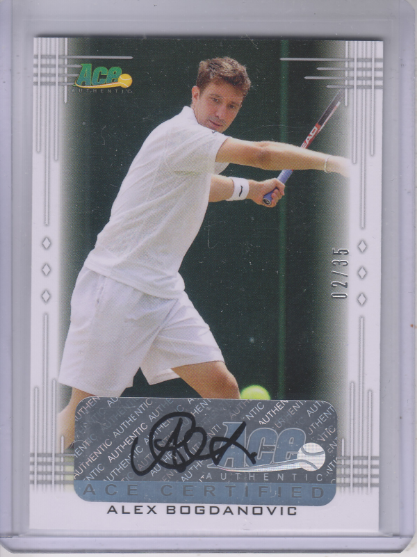 2013 Ace Authentic #BAAB1 Alex Bogdanovic