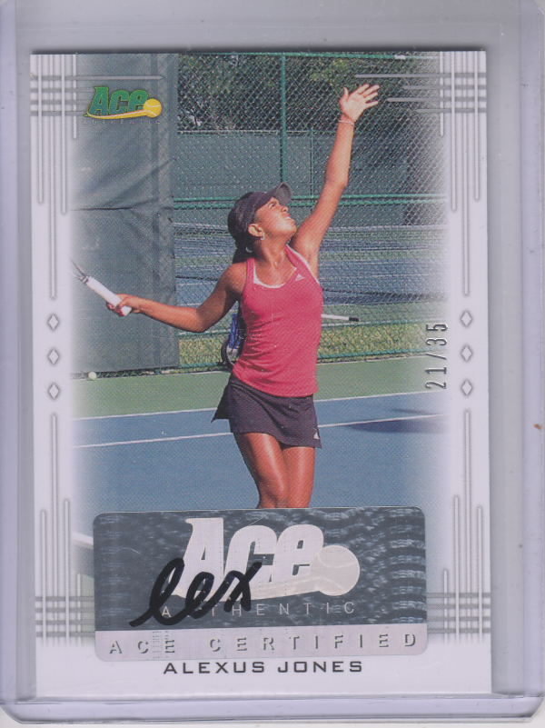 2013 Ace Authentic #BAAJ1 Alexus Jones
