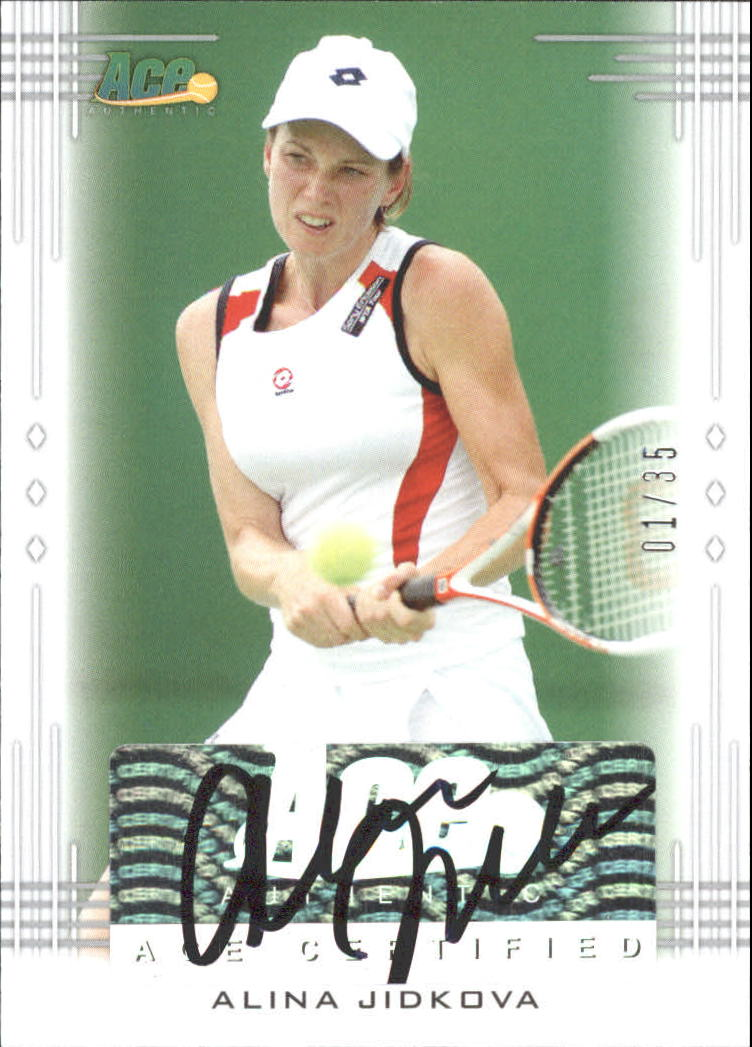 2013 Ace Authentic #BAAJ2 Alina Jidkova