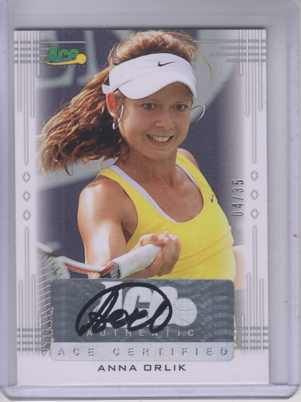 2013 Ace Authentic #BAAO1 Anna Orlik