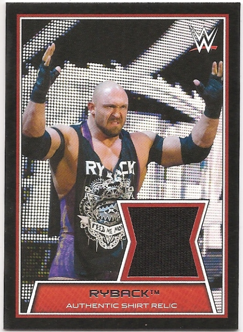 2014 Topps WWE Road to Wrestlemania Swatch Relics #RY Ryback (shirt)