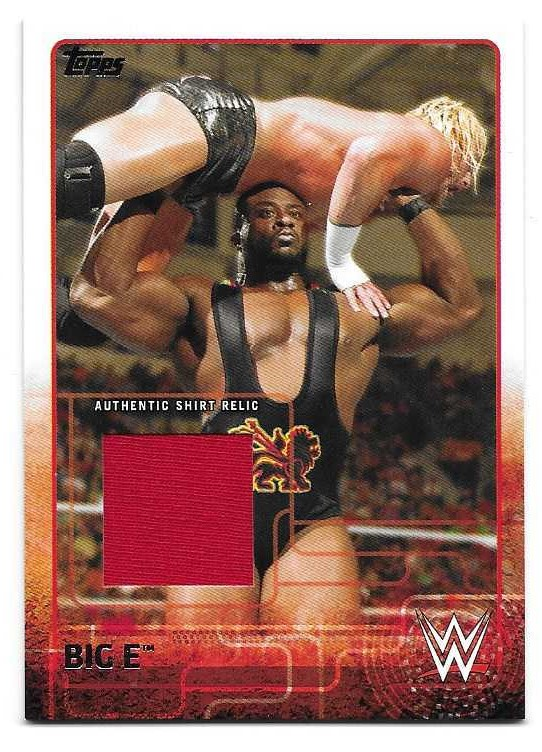 2015 Topps WWE Swatch Relics #2 Big E