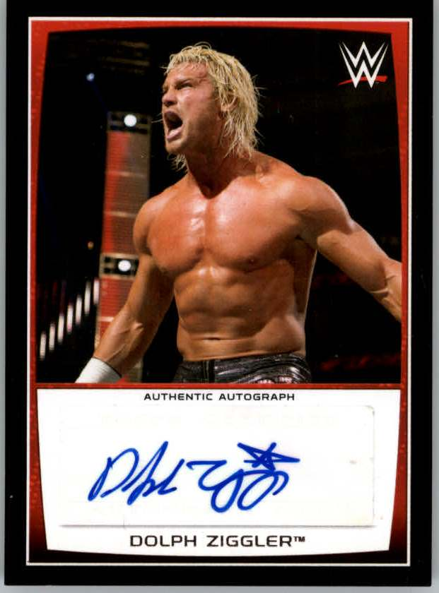 2015 Topps WWE Road to Wrestlemania Autographs #DZ Dolph Ziggler