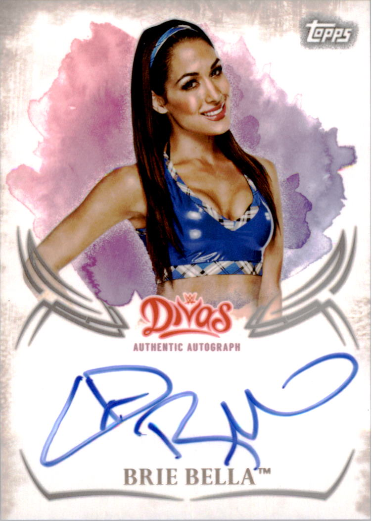 2015 Topps WWE Undisputed Autographs #UABB Brie Bella