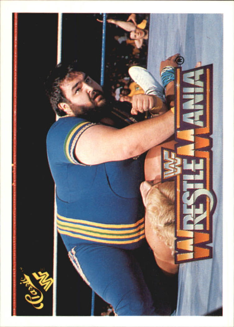 1990 Classic The History of Wrestlemania WWF #97 Akeem/Shawn Michaels