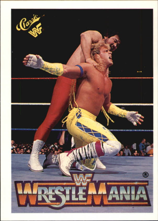 1990 Classic The History of Wrestlemania WWF #131 Sato/Shawn Michaels