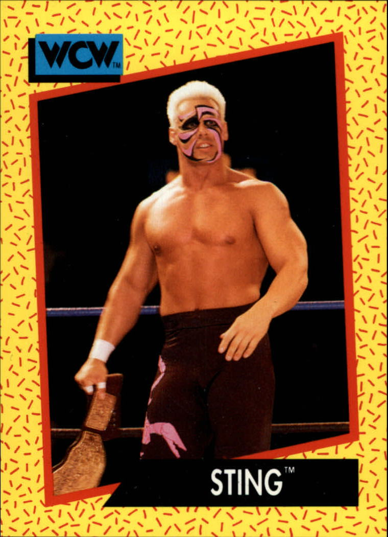 1991 Impel WCW #2 Sting