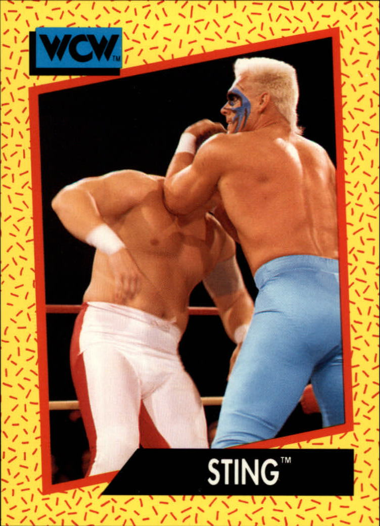 1991 Impel WCW #3 Sting