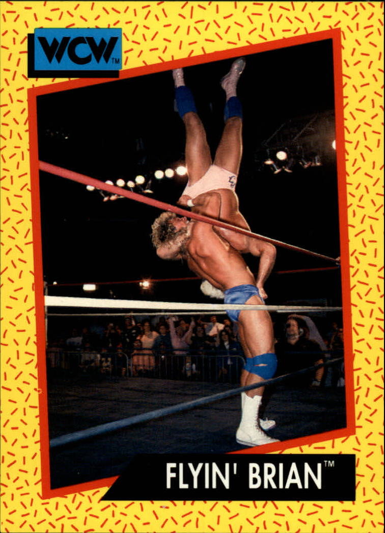 1991 Impel WCW #63 Flyin Brian