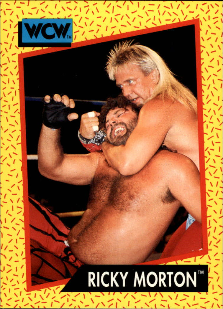 1991 Impel WCW #98 Ricky Morton