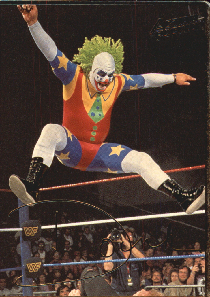 1994 Action Packed WWF #3 Doink the Clown