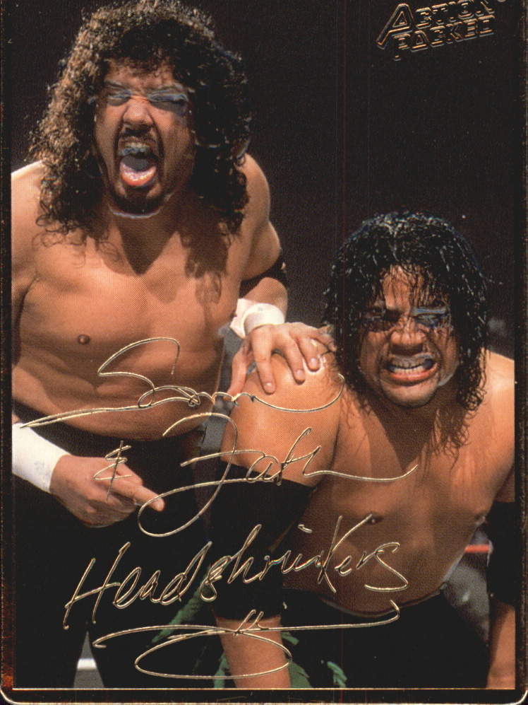 1994 Action Packed WWF #9 Head Shrinkers