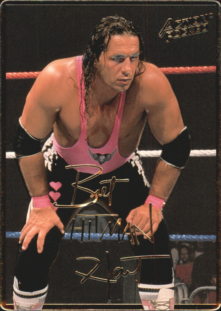 1994 Action Packed WWF #15 Bret Hit Man Hart