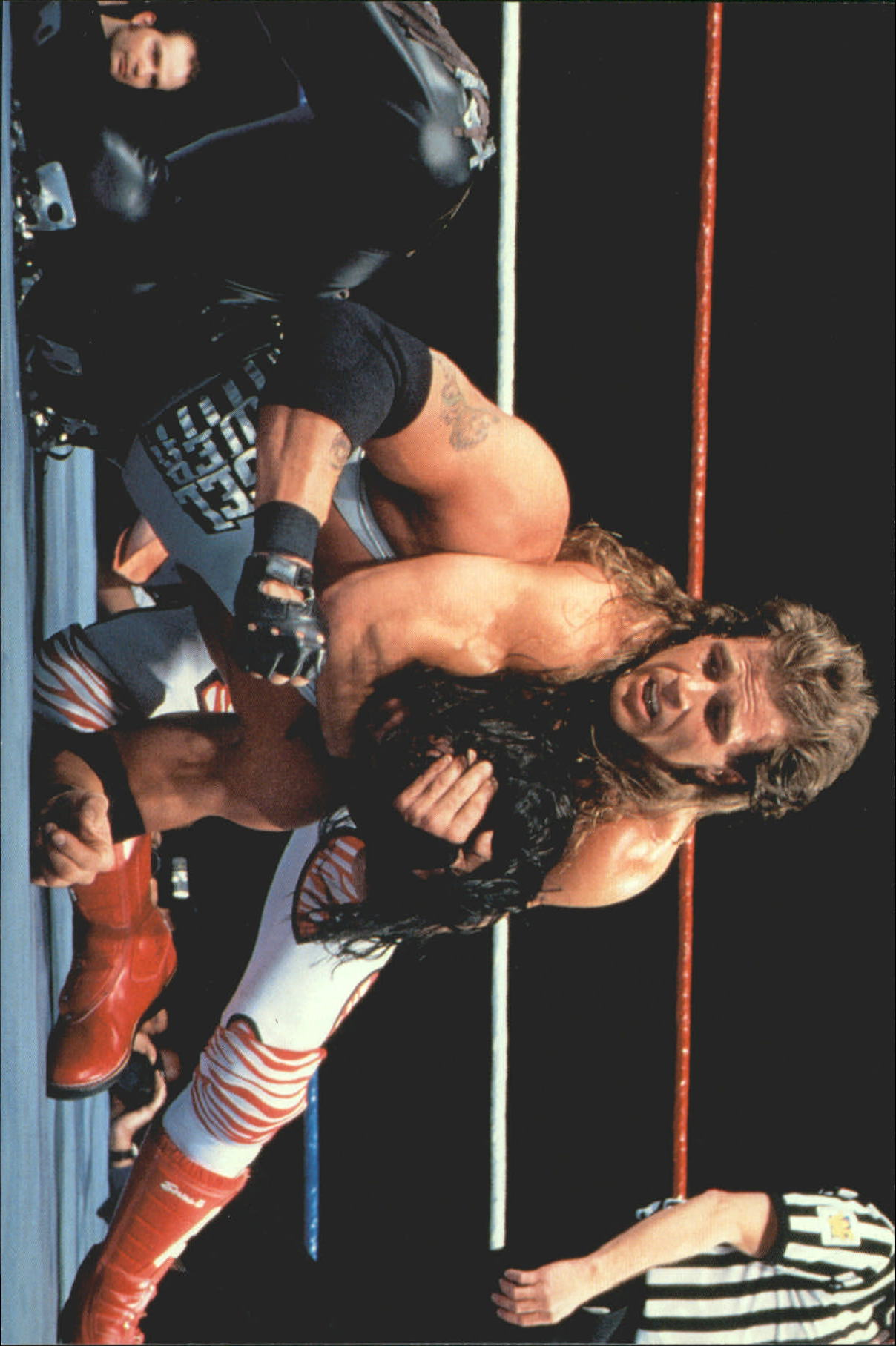 1999 WWF Wrestlemania Live 4 X 6 #18 Diesel/Shawn Michaels