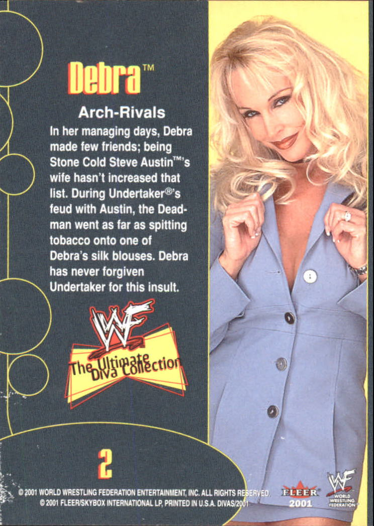 2001 Fleer WWF The Ultimate Diva Collection #2 Debra