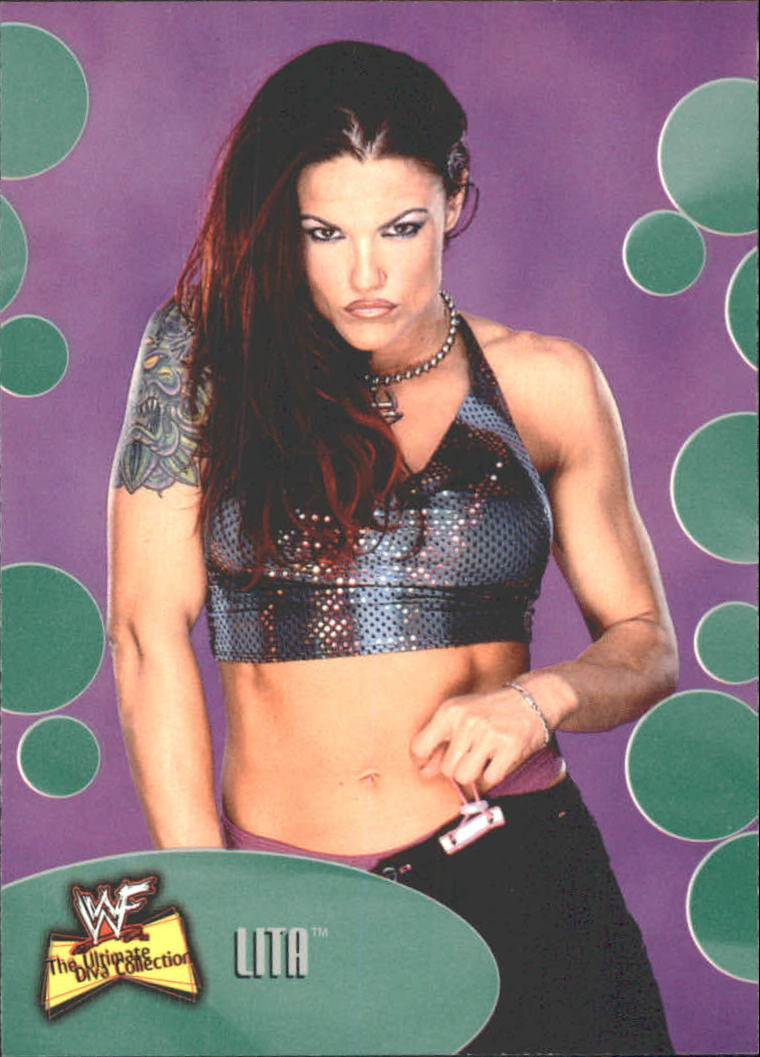 2001 Fleer WWF The Ultimate Diva Collection #5 Lita