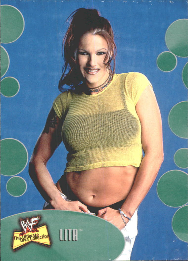 2001 Fleer WWF The Ultimate Diva Collection #19 Lita
