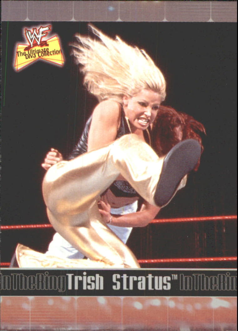 2001 Fleer WWF The Ultimate Diva Collection #69 Trish Stratus ITR