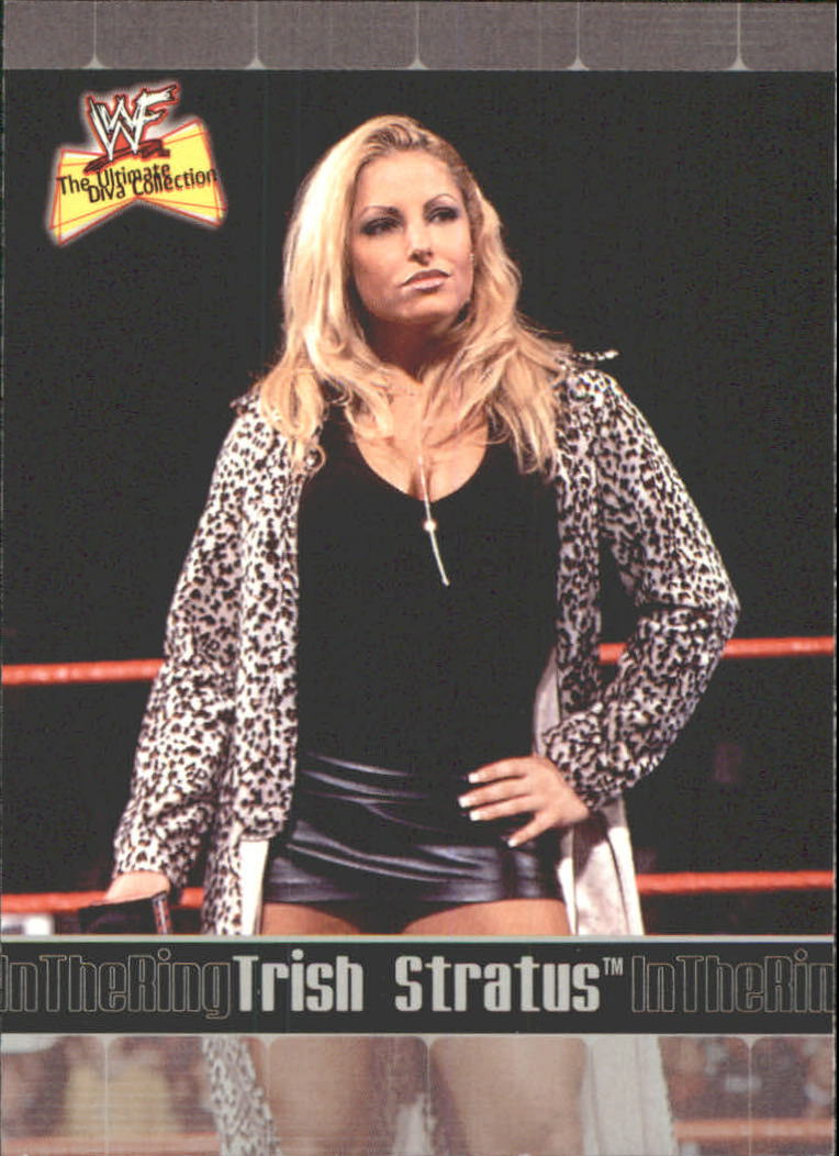 2001 Fleer WWF The Ultimate Diva Collection #80 Trish Stratus ITR