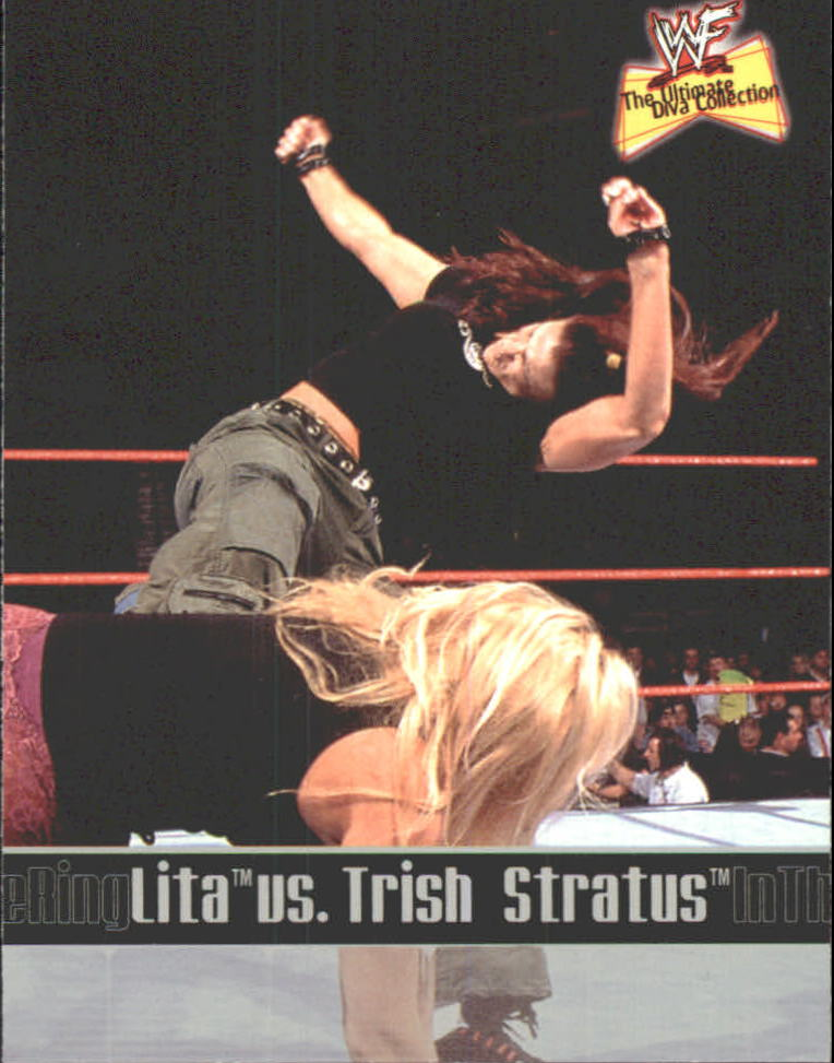 2001 Fleer WWF The Ultimate Diva Collection #83 Lita/T.Stratus ITR