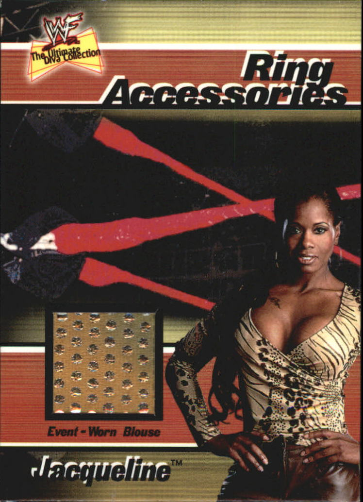 2001 Fleer WWF The Ultimate Diva Collection Ring Accessories #3 Jacqueline