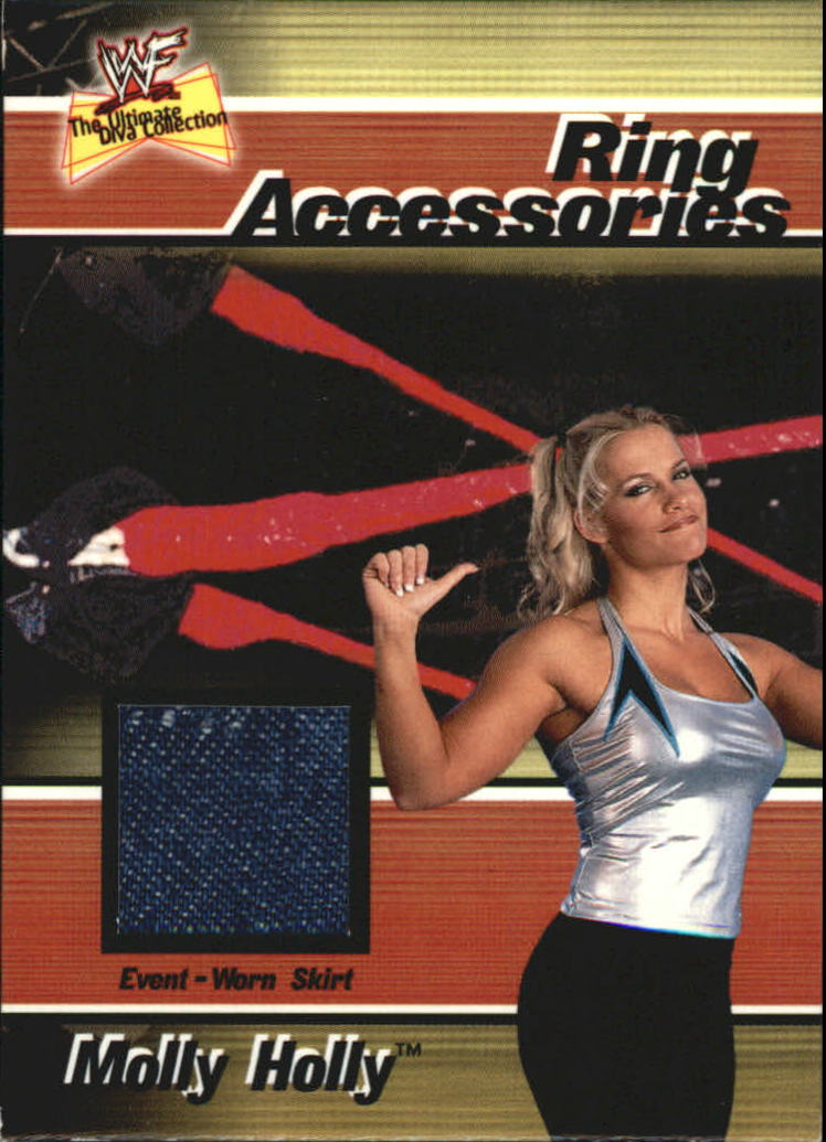 2001 Fleer WWF The Ultimate Diva Collection Ring Accessories #5 Molly Holly
