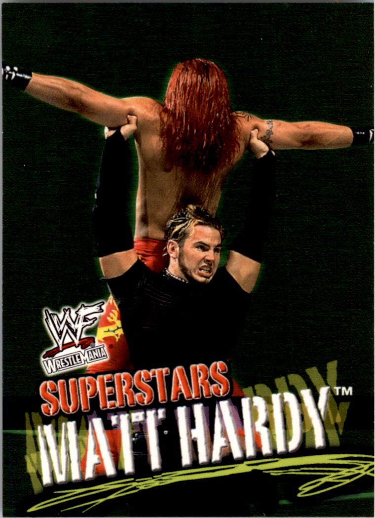 2001 Fleer WWF Wrestlemania #3 Matt Hardy