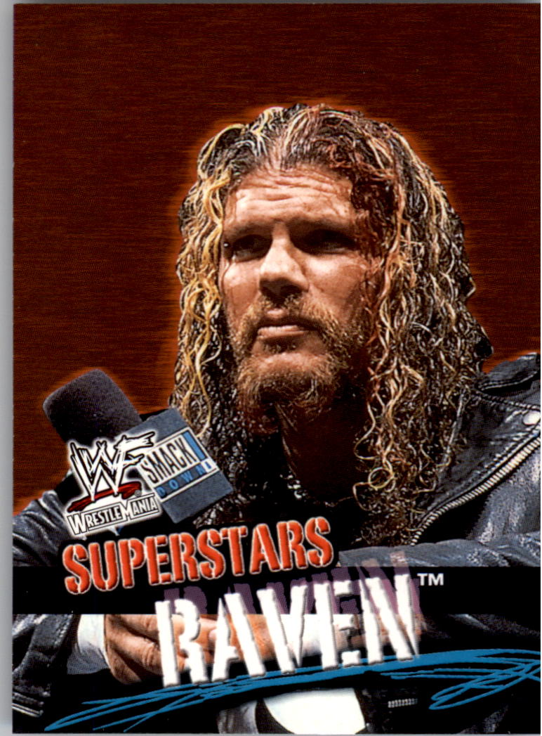 2001 Fleer WWF Wrestlemania #5 Raven
