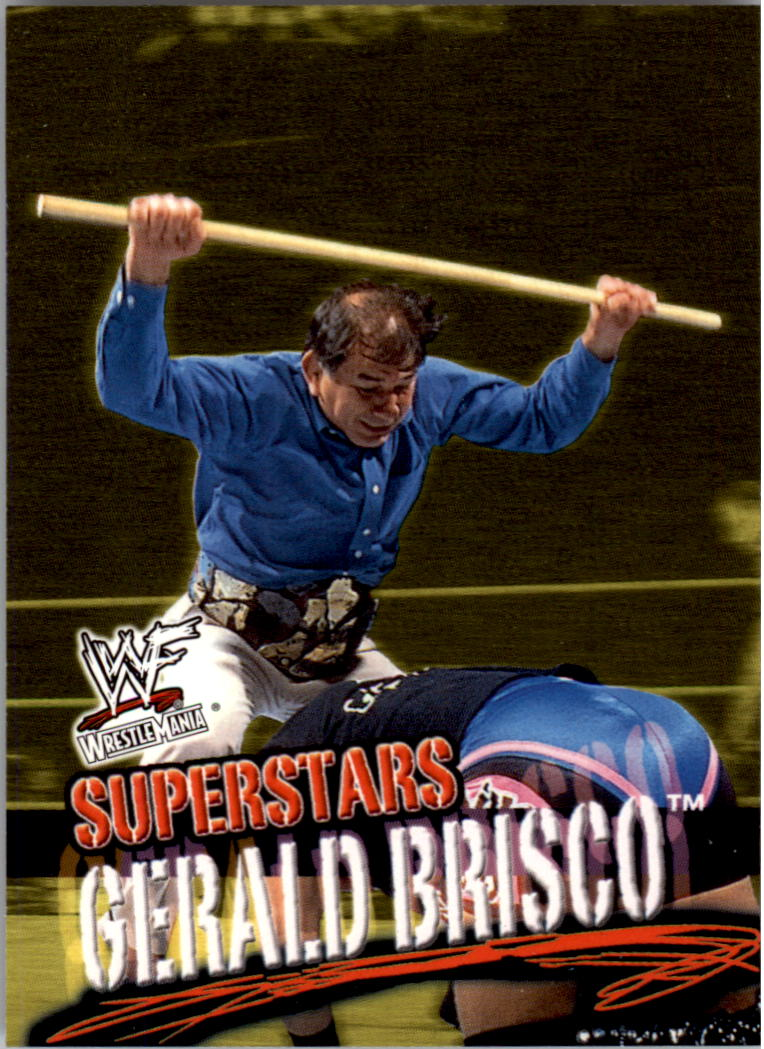 2001 Fleer WWF Wrestlemania #10 Gerald Brisco
