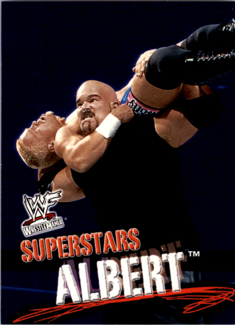 2001 Fleer WWF Wrestlemania #12 Albert
