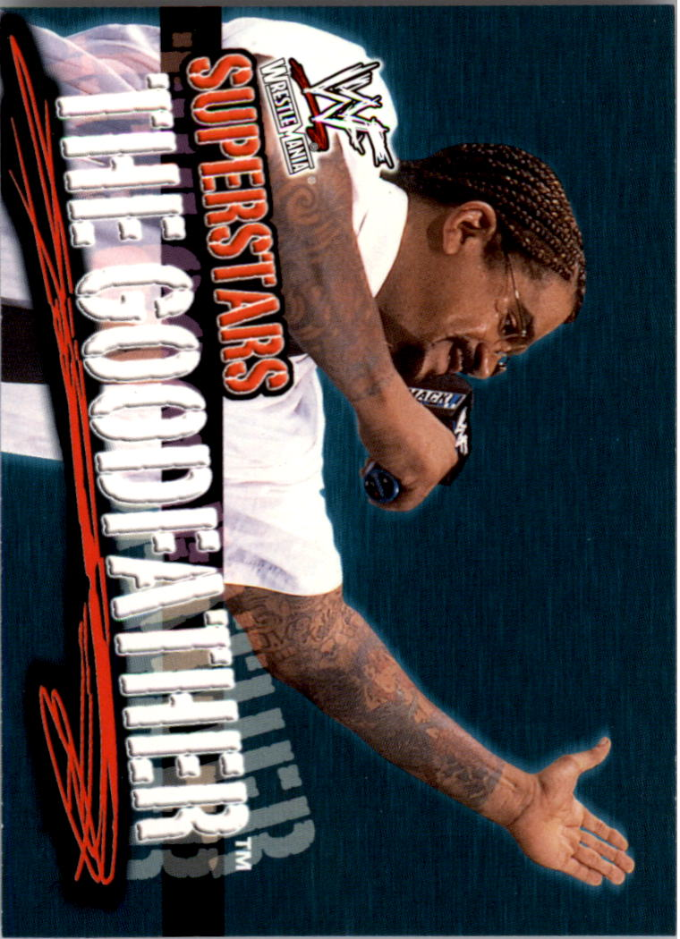2001 Fleer WWF Wrestlemania #15 The Goodfather
