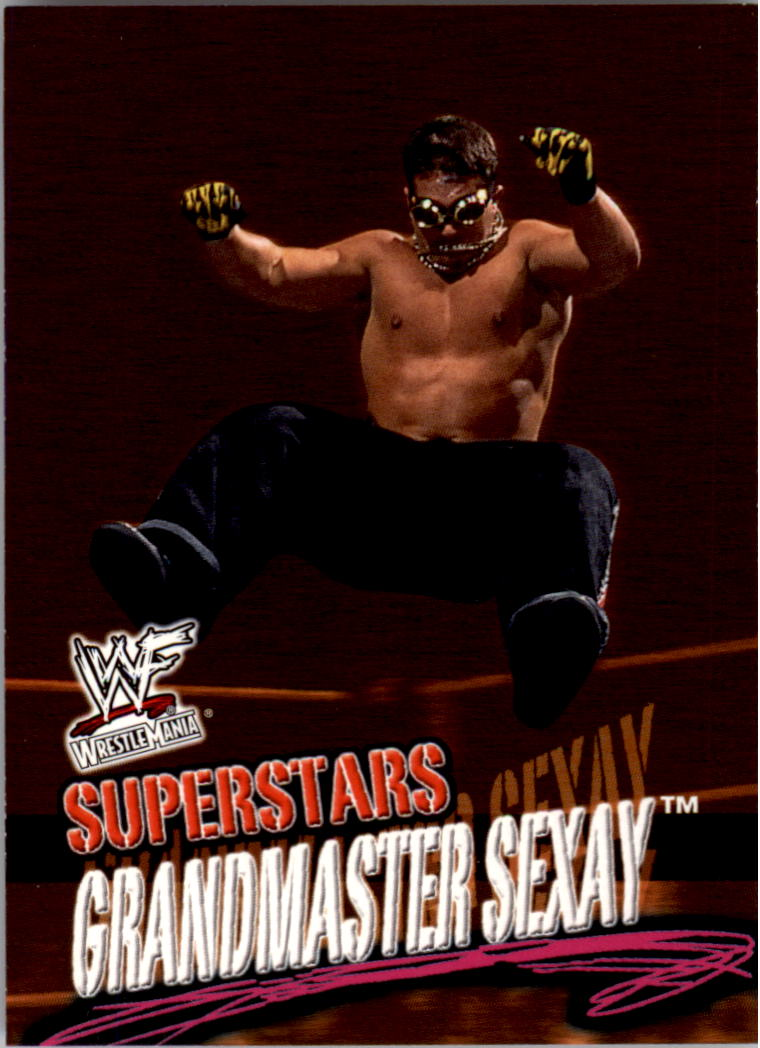 2001 Fleer WWF Wrestlemania #17 Grand Master Sexay